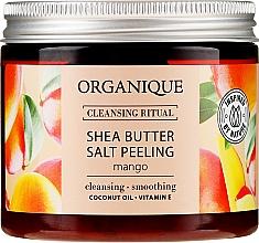 "Fragrances, Perfumes, Cosmetics Salt Peeling ""Mango"" - Organique Shea Butter Salt Peeling Mango"