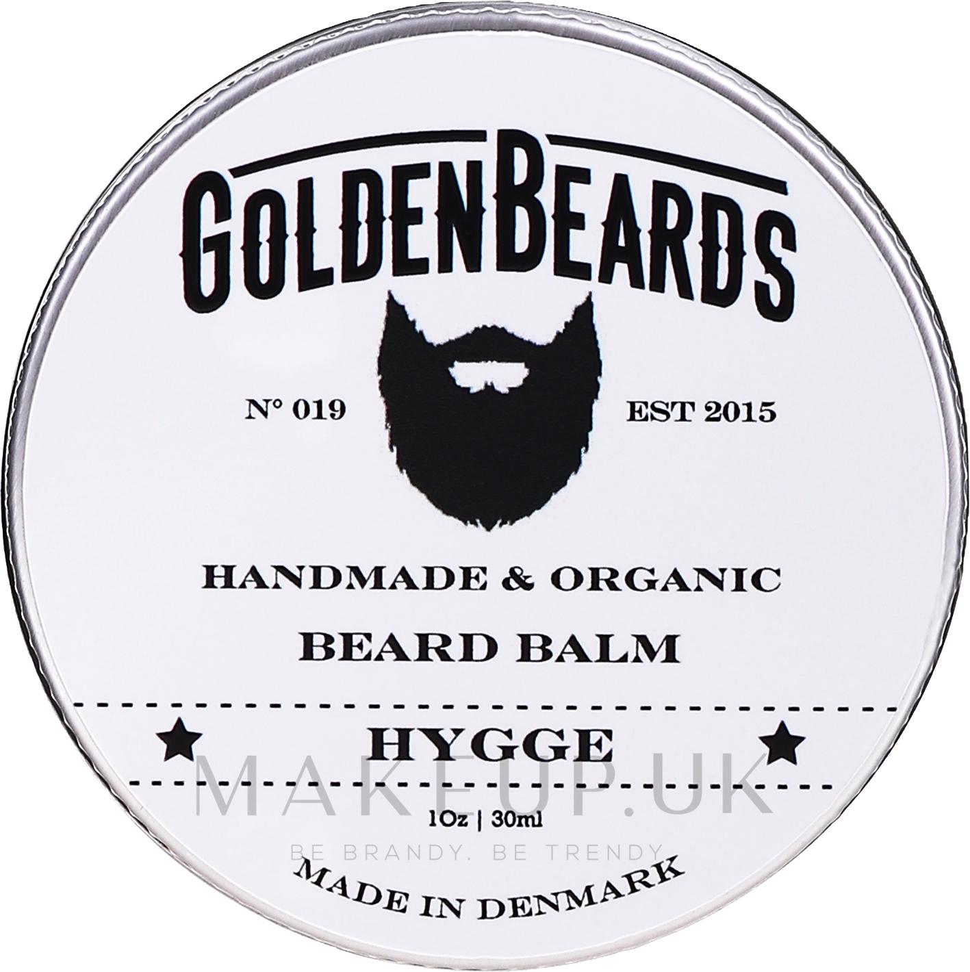 Hygge Beard Balm - Golden Beards Beard Balm — photo 30 ml