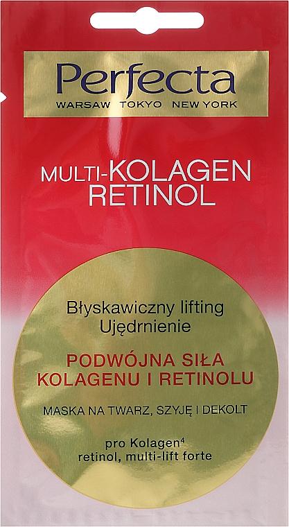 Mask for Face, Neck and Decollete - Perfecta Multi-Kolagen Retinol