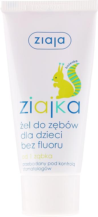 Kids Toothpaste-Gel Fluoride-Free - Ziaja Toothpaste Gel For Kids