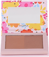 Fragrances, Perfumes, Cosmetics Bronzer Palette - Moira Sunkissed Chic Bronzed Goddess Duo Palette