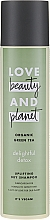 Fragrances, Perfumes, Cosmetics Dry Shampoo with Green Tea Extract - Love Beauty&Planet Organic Green Tea Uplifting Dry Shampoo