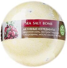 """Fragrances, Perfumes, Cosmetics Bath Bomb """"Black Currant and Cranberry"""" - ECO Laboratorie Sea Salt Bomb"""