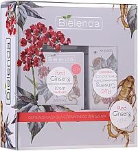 Fragrances, Perfumes, Cosmetics Set - Bielenda Red Ginseng 40+ (cr/50ml + eye/cr/15ml)