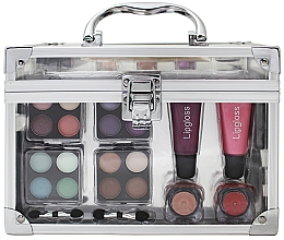 Fragrances, Perfumes, Cosmetics Makeup Set - Makeup Trading Schmink Set Transparent