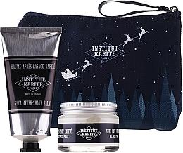 Fragrances, Perfumes, Cosmetics Set - Institut Karite Men Shea (f/cr/50ml + ash/balm/75ml + bag)