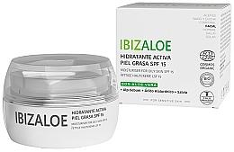 Fragrances, Perfumes, Cosmetics Moisturizing Cream for Oily Skin - Ibizaloe Moisturizing Cream SPF15 For Oily Skin