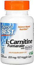 Fragrances, Perfumes, Cosmetics L-Carnitine Fumarate Amino Acid, 855 mg, capsules - Doctor's Best