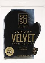 Fragrances, Perfumes, Cosmetics Self-Tan Glove - Sosu by SJ Dripping Gold Luxury Tanning Mitt Velvet
