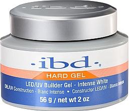 Fragrances, Perfumes, Cosmetics Nail Builder Gel, intense white - IBD LED/UV Builder Intense White Gel