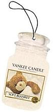 Fragrances, Perfumes, Cosmetics Air Freshener - Yankee Candle Soft Blanket Car Jar Ultimate