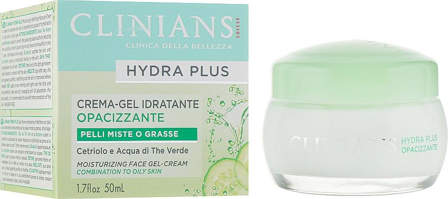 Face Gel-Cream - Clinians Hydra Plus Moisturizing Face Gel-Cream — photo N1
