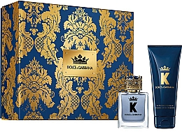 Fragrances, Perfumes, Cosmetics Dolce & Gabbana K by Dolce & Gabbana - Set (edt/50ml + a/sh/balm/75ml)