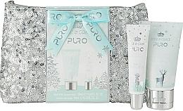 Fragrances, Perfumes, Cosmetics Set - Style & Grace Puro Glitter Bag Gift Set (h/lot/50ml + lip gloss/10ml + bag)