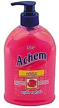 """Fragrances, Perfumes, Cosmetics Liquid Soap """"Rose"""" - Achem Soap"""