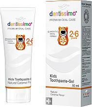 Fragrances, Perfumes, Cosmetics Kids Toothpaste - Dentissimo Kids Toothpaste Caramel