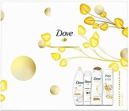 Fragrances, Perfumes, Cosmetics Set - Dove Perfect Pampering Gift Set (sh/gel/250ml + b/lot/250ml + shm/250/ml + deo/150ml)