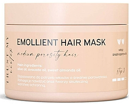 Fragrances, Perfumes, Cosmetics Softening Mask for Medium Porosity Hair  - Trust My Sister Medium Porosity Hair Emollient Mask