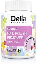 Fragrances, Perfumes, Cosmetics Sponge Nail Polish Remover - Delia Sponge Nail Polish Remover Acetone Free