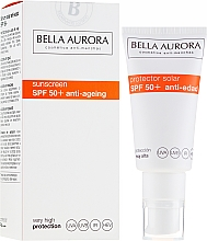Fragrances, Perfumes, Cosmetics Sunscreen - Bella Aurora Solar Protector Anti-Age SPF50+