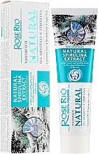 Fragrances, Perfumes, Cosmetics Toothpaste - Rose Rio Natural Sea Minerals & Spirulina Toothpaste