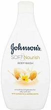 Fragrances, Perfumes, Cosmetics Shower Gel with Almond Oil & Jasmine Aroma - Johnson`s Body Wash Soft & Pamper