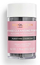 Fragrances, Perfumes, Cosmetics Cleansing Face Powder - Revolution Skincare Purifying Charcoal Cleansing Powder