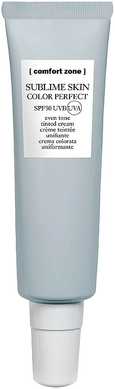 Protective Face Cream - Comfort Zone Sublime Skin Color Perfect SPF50 — photo N1