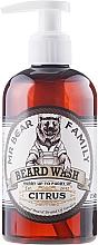 Fragrances, Perfumes, Cosmetics Beard Shampoo - Mr. Bear Family Beard Wash Citrus