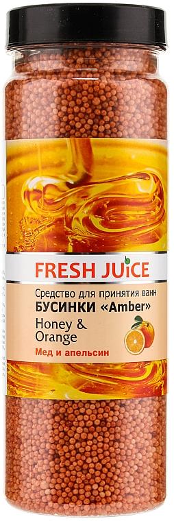 Bath Beads - Fresh Juice Bath Bijou Amber Honey and Orange — photo N1