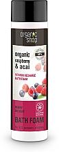 "Fragrances, Perfumes, Cosmetics Bubble Bath ""Vitamin Recharge. Berry Pleasure"" - Organic Shop Organic Acai and Raspberry Berry Bath Foam"