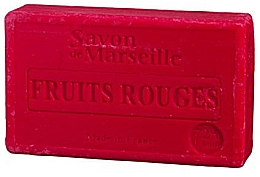 """Fragrances, Perfumes, Cosmetics Natural Soap """"Red Fruit"""" - Le Chatelard 1802 Red Fruit Soap"""