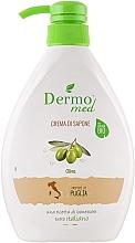 Fragrances, Perfumes, Cosmetics Olive Cream Soap - Dermomed Oliva Cream Soap