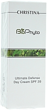 "Fragrances, Perfumes, Cosmetics Day Cream ""Absolute Protection"" - Christina Bio Phyto Ultimate Defense Day Cream SPF 20"