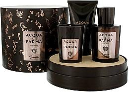 Fragrances, Perfumes, Cosmetics Acqua di Parma Colonia Quercia - Set (edc/100ml + candle/65g + sh/gel/75ml)