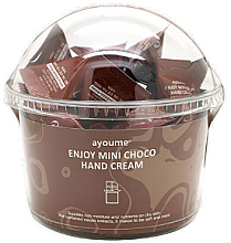 Fragrances, Perfumes, Cosmetics Chocolate Hand Cream - Ayoume Enjoy Mini Choco Hand Cream