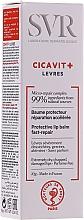 Fragrances, Perfumes, Cosmetics Protective Lip Balm - SVR Cicavit+ Lip Protective Lip Balm Fast-Repair
