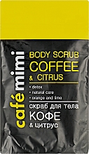 "Fragrances, Perfumes, Cosmetics Body Scrub ""Coffee & Citrus"" - Cafe Mimi Body Scub Coffee & Citrus"