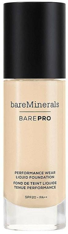 Face Foundation - Bare Escentuals Bare Minerals Barepro 24-Hour Full Coverage Liquid Foundation Spf20