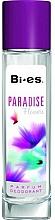 Fragrances, Perfumes, Cosmetics Bi-Es Paradise Flowers - Deodorant