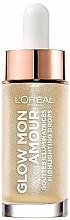 Fragrances, Perfumes, Cosmetics Liquid Highlighter - L'Oreal Paris Glow Mon Amour