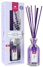 "Fragrances, Perfumes, Cosmetics Reed Diffuser ""Lavender & Lilac"" - Cristalinas Reed Diffuser"