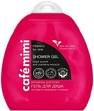 "Fragrances, Perfumes, Cosmetics Shower Gel ""Vitamins for Skin"" - Cafe Mimi Shower Gel"