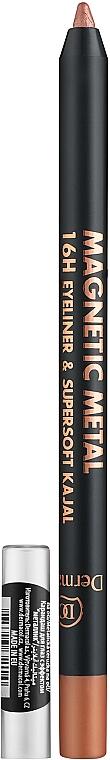 Kajal Eye Pencil - Dermacol Magnetic Metal 16H Eyeliner
