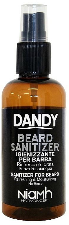 Beard and Moustache Disinfectant Spray - Niamh Hairconcept Dandy Beard Sanitizer Refreshing & Moisturizing