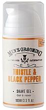 Fragrances, Perfumes, Cosmetics Shaving Gel - Scottish Fine Soaps Men's Grooming Thistle & Black Pepper Shaving Gel