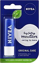 "Fragrances, Perfumes, Cosmetics Lip Balm ""Base Care"" - Nivea Original Care 24H Lip Balm"