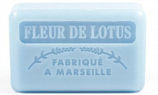 """Marseille Soap """"Lotus Flower"""" - Foufour Savonnette Marseillaise Fleur De Lotus"""