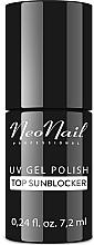 Fragrances, Perfumes, Cosmetics Gel Polish Top Coat - Lakier Hybrydowy Top Sunblocker