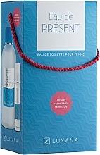 Fragrances, Perfumes, Cosmetics Luxana Eau De Present - Set (edt/1000ml + edt/50ml)